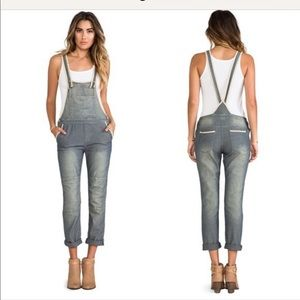 Free people Thomas overalls slouch light weight